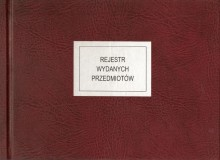 Rejestr wydanych przedmiotów