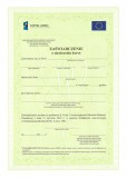 Zaświadczenie o ukończeniu kursu - z flagą Unii Europejskiej i logo Kapitał Ludzki