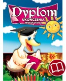 Dyplom ukończenia przedszkola (z treścią) DS14