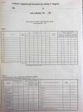 Arkusz organizacji branżowej szkoły I stopnia, A2