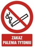 Tabliczka - Zakaz palenia tytoniu - średnia