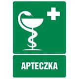 Tabliczka - Apteczka pierwszej pomocy - 21x29 cm