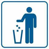 Piktogram - Kosz na odpadki