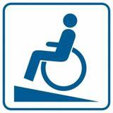 Piktogram - Podjazd dla inwalidów