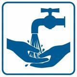 Piktogram - Zanim wyjdziesz umyj ręce