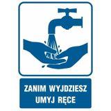 Zanim wyjdziesz umyj ręce - Znak