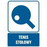Tenis stołowy - Znak