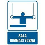 Sala gimnastyczna - Znak