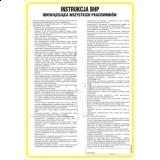 Tablica - Instrukcja ogólna BHP obowiązująca wszystkich pracowników