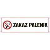 Tabliczka - Zakaz palenia