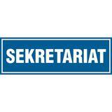 Sekretariat - tabliczka