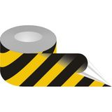Taśma samoprzylepna żółto-czarna, podłogowa