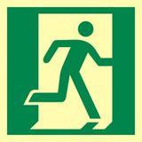 Drzwi ewakuacyjne - 15x15 - znak