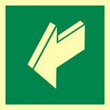 Tabliczka - Ciągnąć aby otworzyć - 15 x 15 cm