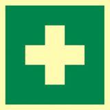 Pierwsza pomoc - 15x15 - znak