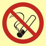 Tabliczka - Palenie tytoniu zabronione - 15 x 15 cm