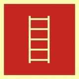 Tabliczka - Drabina pożarowa - 35 x 35 cm