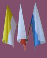 Flaga Maryjna (biało-niebieska) 70 x 110 cm