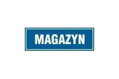 Tabliczka na drzwi - Magazyn