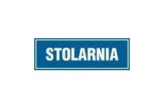 Stolarnia - tabliczka