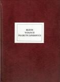 Rejestr wydanych świadectw zawodowych