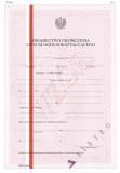 MEN-I/23a-w/2 - świadectwo liceum ogólnokształcącego z wyróżnieni