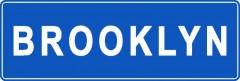 Tabliczki z nazwami miejsc i miejscowości (Brooklyn 1)