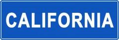 Tabliczki z nazwami miejsc i miejscowości (California 1)