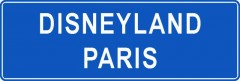 Tabliczki z nazwami miejsc i miejscowości (Disneyland Paris 1)