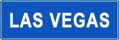 Tabliczki z nazwami miejsc i miejscowości (Las Vegas 1)