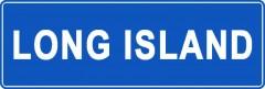 Tabliczki z nazwami miejsc i miejscowości (Long Island 1)