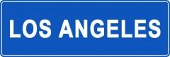 Tabliczki z nazwami miejsc i miejscowości (Los Angeles1)