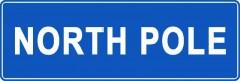 Tabliczki z nazwami miejsc i miejscowości (North Pole 1)