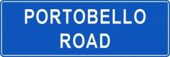 Tabliczki z nazwami miejsc i miejscowości (Portobello Road 1)