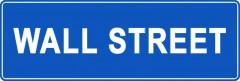 Tabliczki z nazwami miejsc i miejscowości (Wall Street 1)