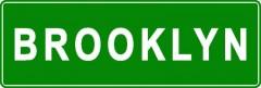 Tabliczki z nazwami miejsc i miejscowości (Brooklyn 2)