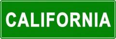 Tabliczki z nazwami miejsc i miejscowości (California 2)