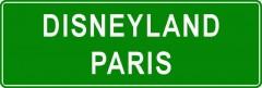 Tabliczki z nazwami miejsc i miejscowości (Disneyland Paris 2)