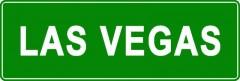 Tabliczki z nazwami miejsc i miejscowości (Las Vegas 2)