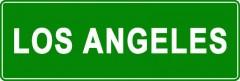Tabliczki z nazwami miejsc i miejscowości (Los Angeles2)