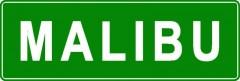 Tabliczki z nazwami miejsc i miejscowości (Malibu 2)