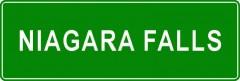 Tabliczki z nazwami miejsc i miejscowości (Niagara Falls 2)