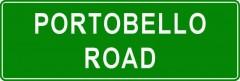 Tabliczki z nazwami miejsc i miejscowości (Portobello Road 2)