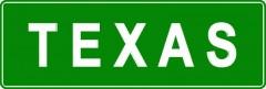 Tabliczki z nazwami miejsc i miejscowości (Texas 2)