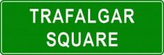 Tabliczki z nazwami miejsc i miejscowości (Trafalgar Square 2)