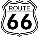 Tabliczki z nazwami miejsc i miejscowości (Route 66)