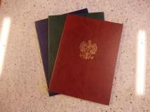 Teczka uniwersalna - dyplomowa, okolicznościowa, jubileuszowa